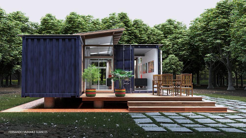 Ilustraciones 3d infografía arquitectura render 001