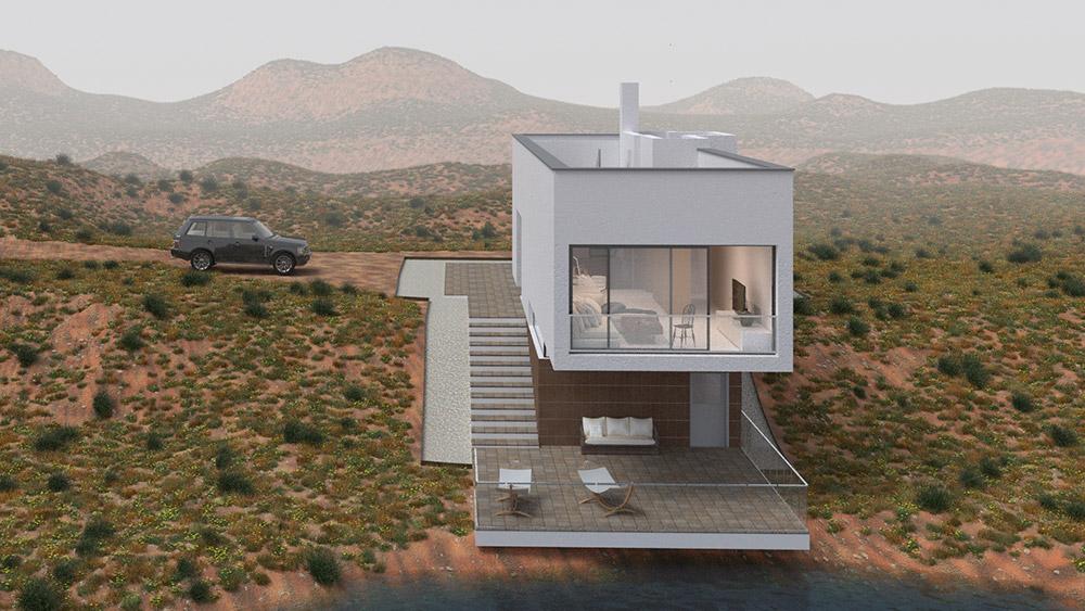 Ilustraciones 3d infografía arquitectura render 011