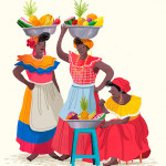 Ilustraciones destacadas ilustradora Andrea Castro