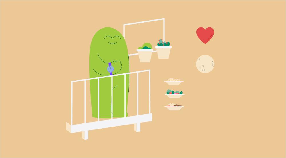 """Ilustración realizada por Joelle Carreño para el vídeo """"Hora de soñar"""" de El Corte Inglés"""