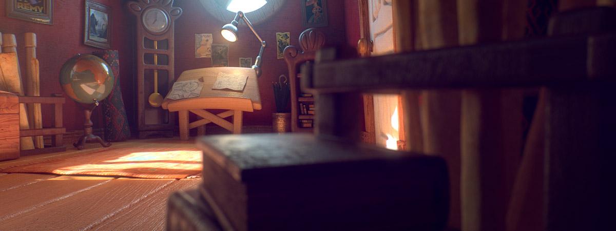 Ilustrador Alex Mateo ilustraciones 3D, artista 3D, CGI Artist, ilustración Attic Studio cámara 1