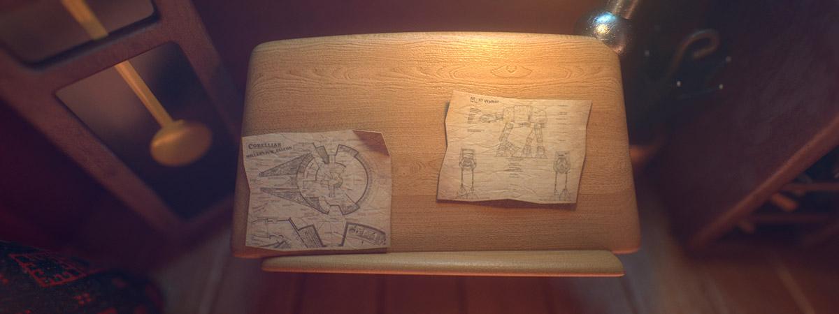 Ilustrador Alex Mateo ilustraciones 3D, artista 3D, CGI Artist, ilustración Attic Studio cámara 2