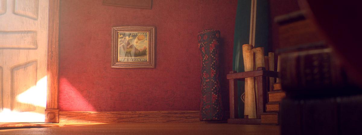 Ilustrador Alex Mateo ilustraciones 3D, artista 3D, CGI Artist, ilustración Attic Studio cámara 6