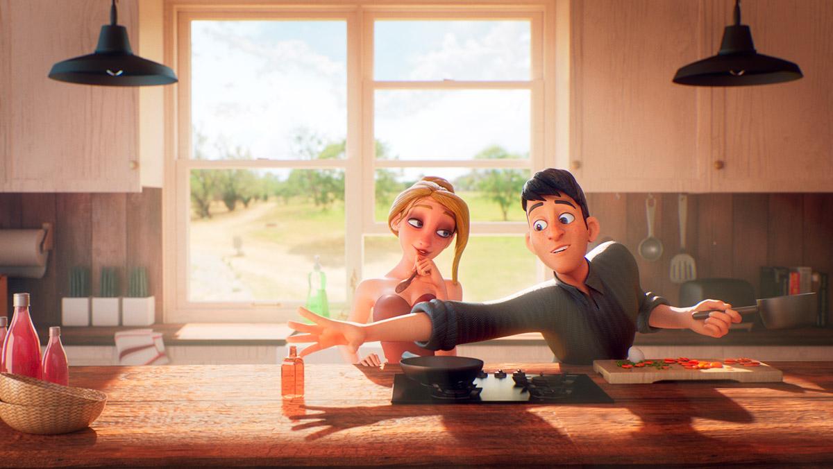 Ilustrador Alex Mateo ilustraciones 3D, artista 3D, CGI Artist, ilustración Reelvolution Peppi