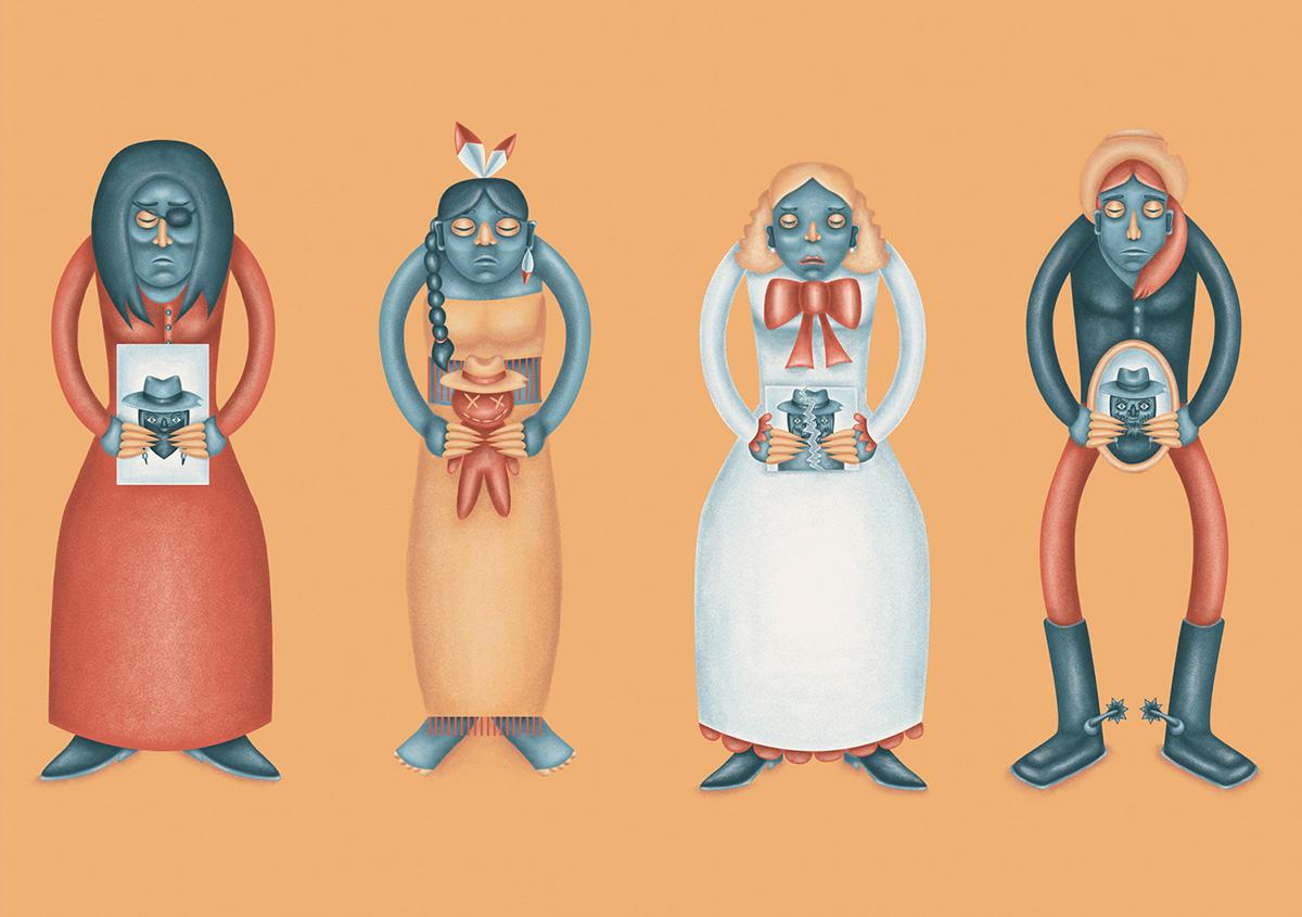 ilustrador juan pablo mendez ilustración forastero 5