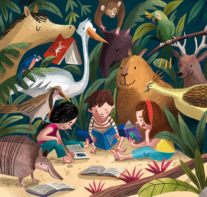 Ilustradora Andrea Castro. Ilustración 1