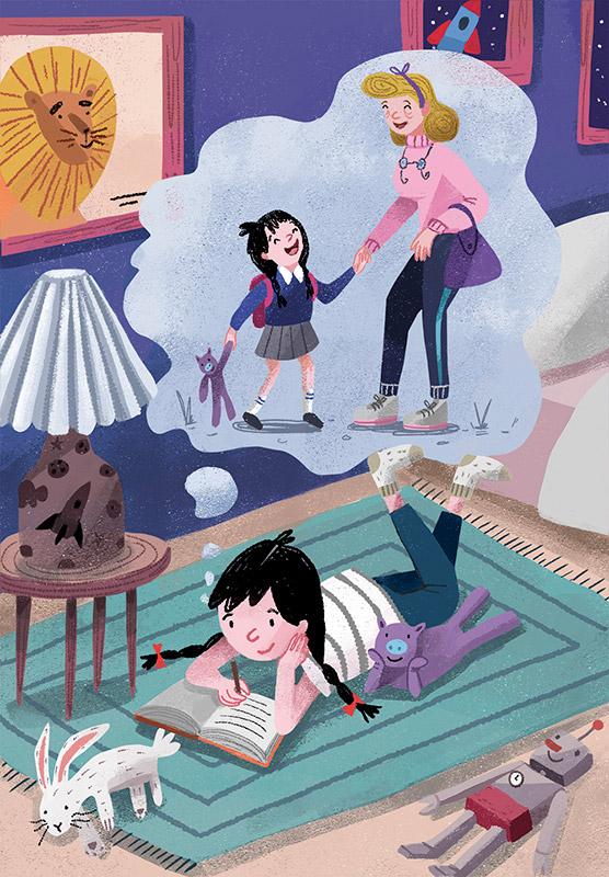 Ilustradora Andrea Castro. Ilustración 18