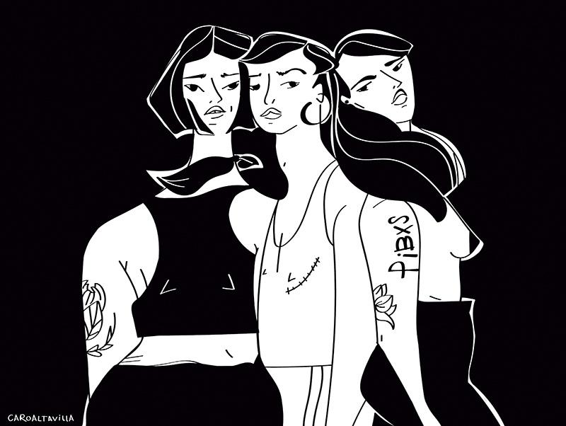 Ilustradora Carolina Altavilla. Feminism feminist woman trends
