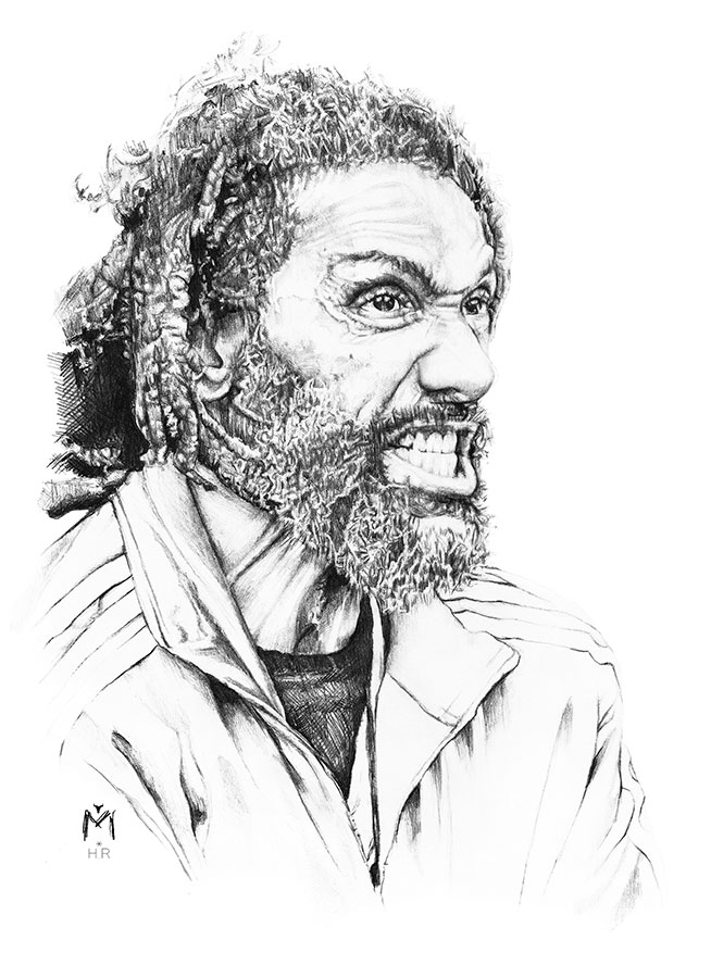 Ilustradora Maribel T Music-HR-bad-brains-ilustracion