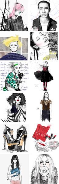 Ilustradora Maribel T lustraciones destacadas