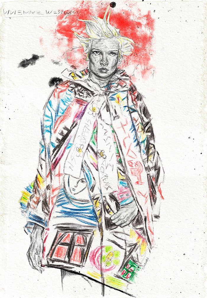 Iustradora Maribel T ilustración Fashion 3