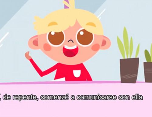 Noelia López Sierra realiza las ilustraciones de la serie de cuentos animados #EstamosATuLado de El Corte Inglés