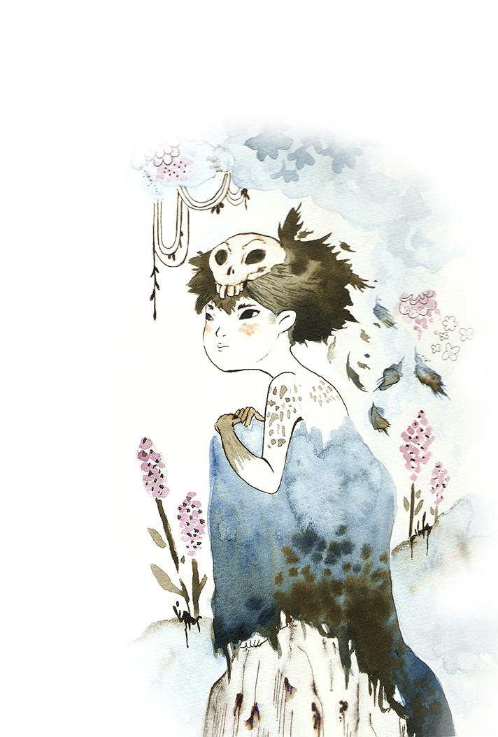 Patricia Yuste Ilustración Blue Bird
