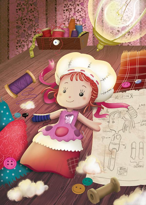 Patricia Yuste Ilustración Munequita