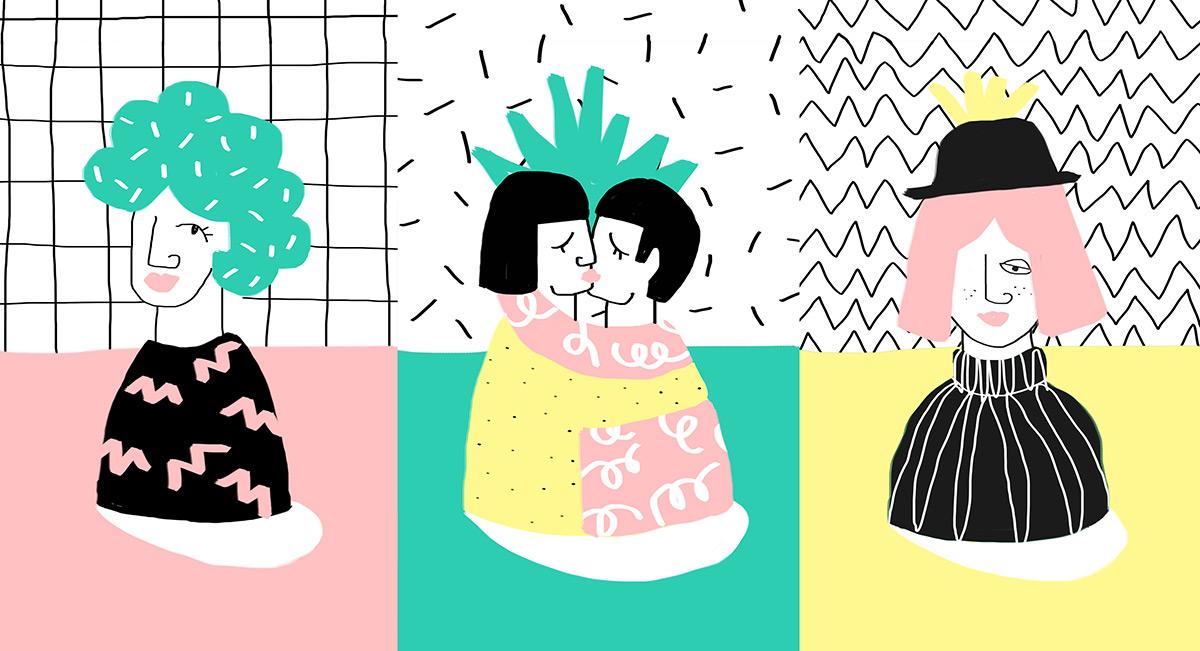 Ilustradora Perrine Honoré, ilustración 009