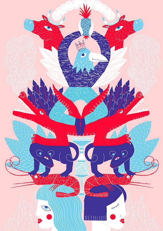 Ilustradora Perrine Honoré, ilustración 02