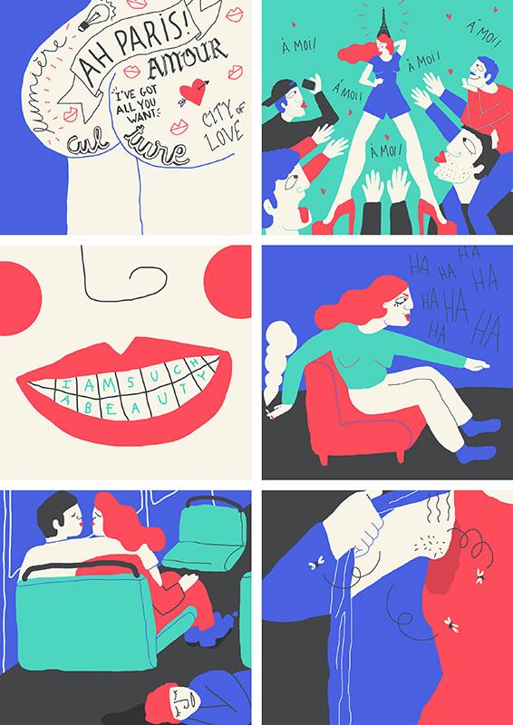 Ilustradora Perrine Honoré, ilustración 04