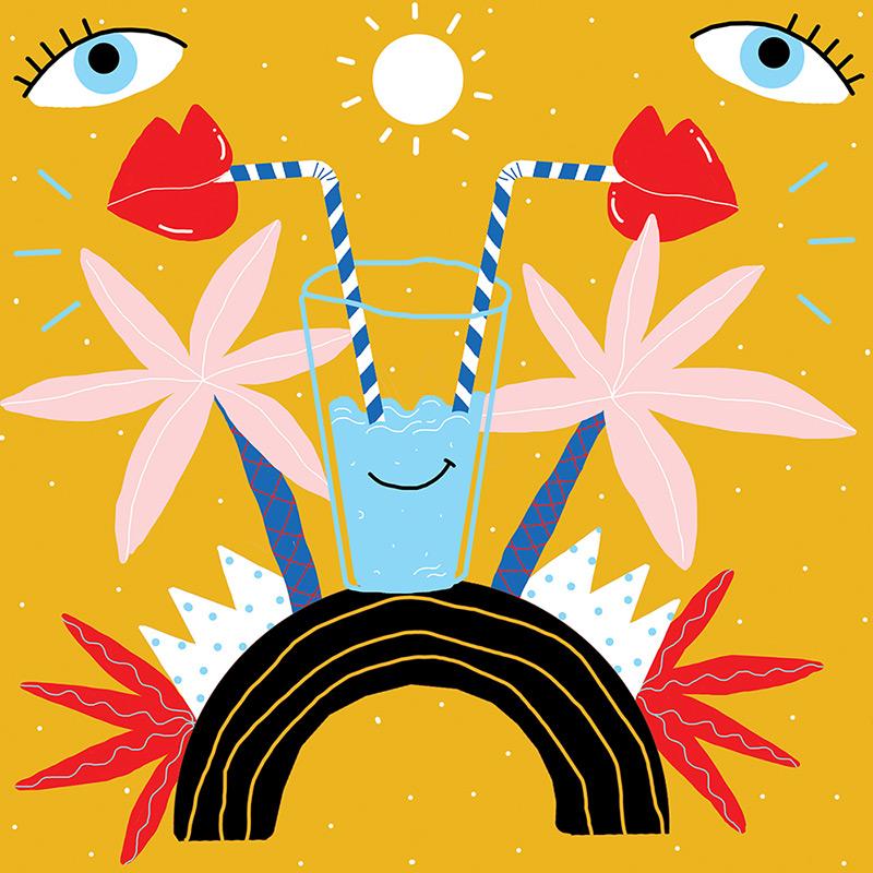Ilustradora Perrine Honoré, ilustración 6RVB