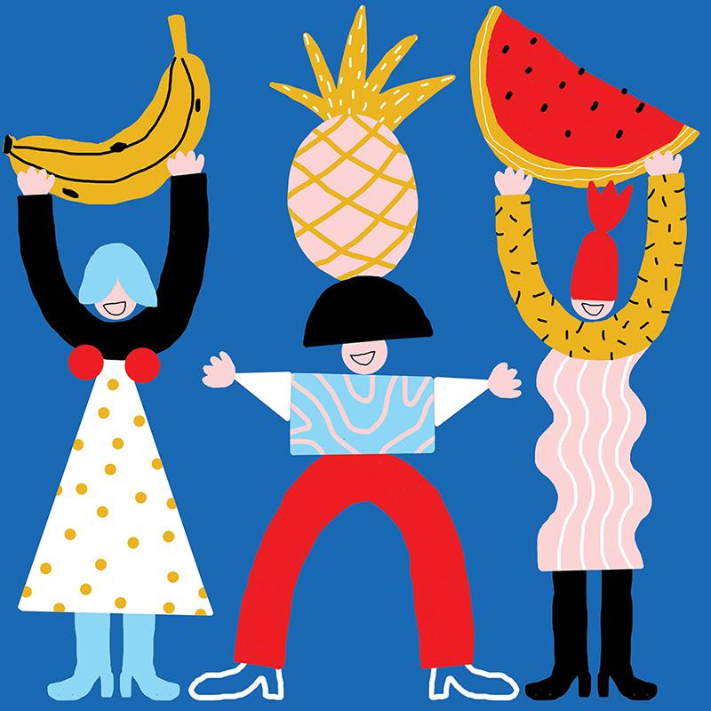 Ilustradora Perrine Honoré, ilustración 8RVB