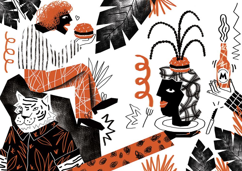 Ilustradora Perrine Honoré, ilustración BACOA