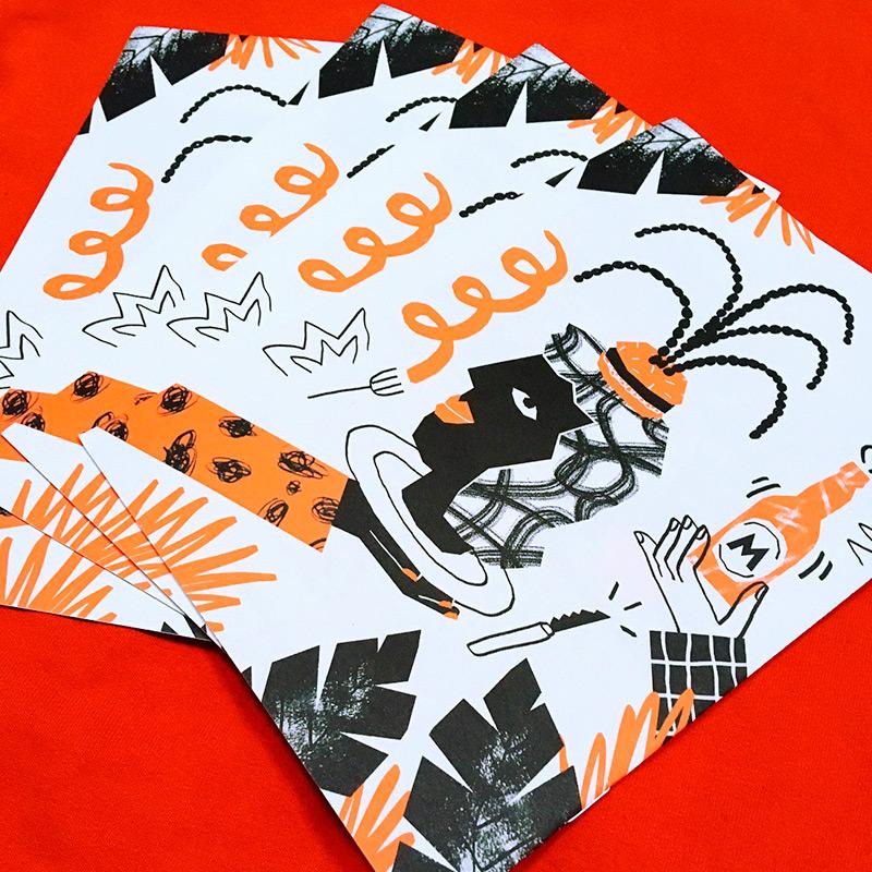 Ilustradora Perrine Honoré, ilustración BACOA2