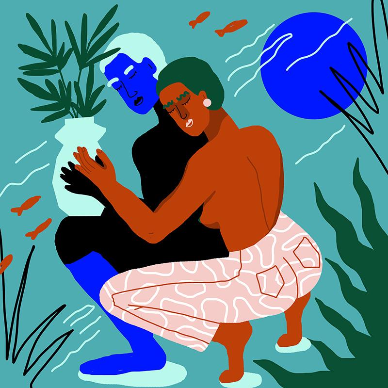 Ilustradora Perrine Honoré, ilustración CALIN-2.