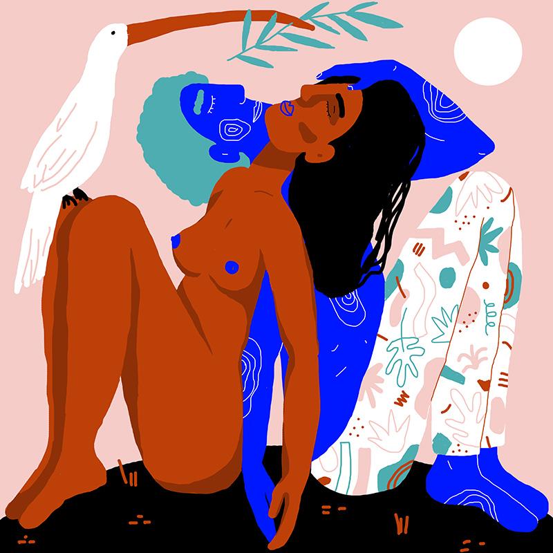 Ilustradora Perrine Honoré, ilustración CALIN-3.