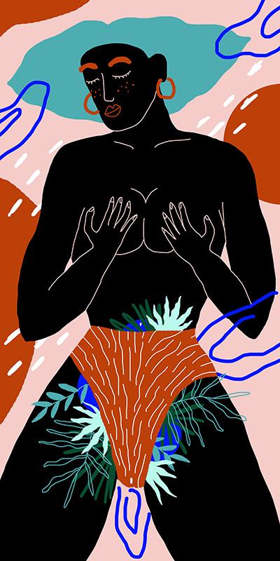 Ilustradora Perrine Honoré, ilustración Fuerza