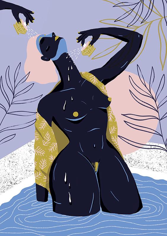 Ilustradora Perrine Honoré, ilustración PSHIIIT.