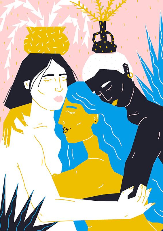 Ilustradora Perrine Honoré, ilustración carino