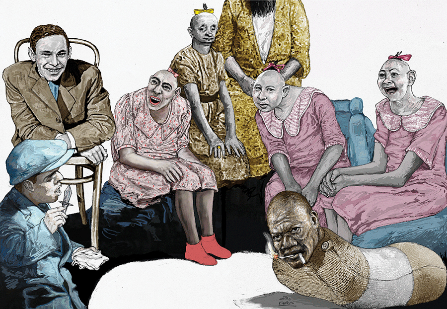 Ilustradora Zita Delaco ilustración Freaks