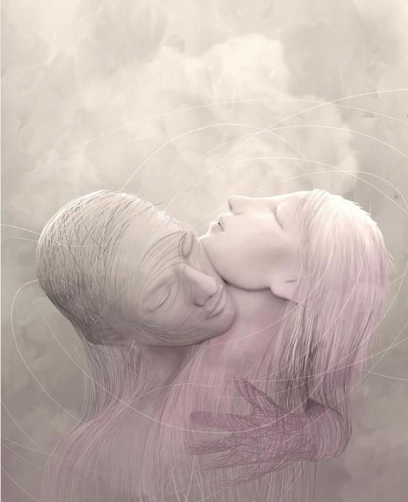 Ilustradores Gaby Thiery, amantes
