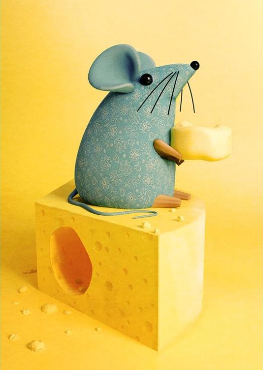 Ilustradores Gaby Thiery, ratoncillo