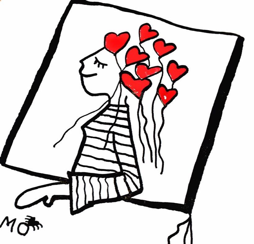 ilustradores mujeres orinicas camiseta