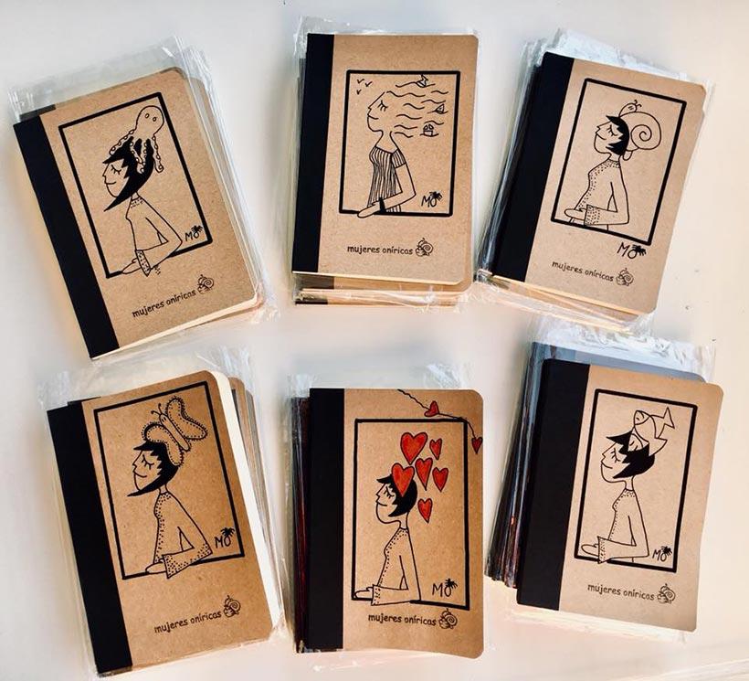 ilustradores mujeres orinicas cuadernos blog