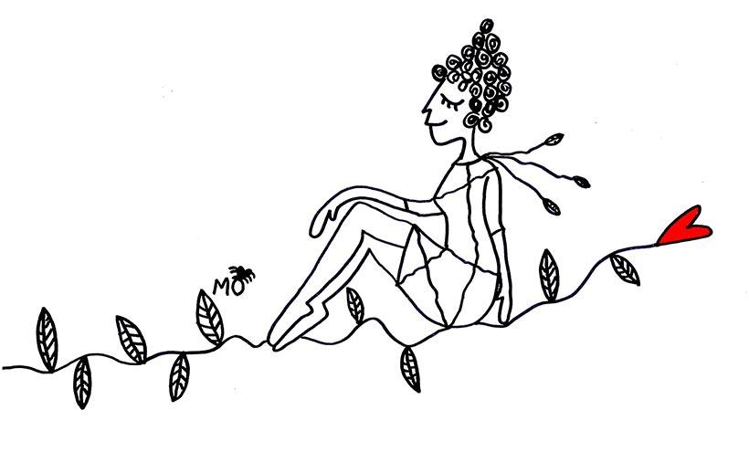 ilustradores mujeres orinicas rama corazón