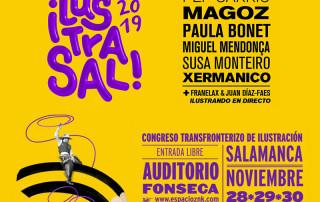 Ilustrasal 2019 congreso internacional de ilustración en la ciudad de Salamanca