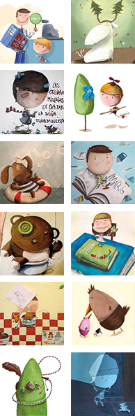 Marta Mayo ilustradora miniatura