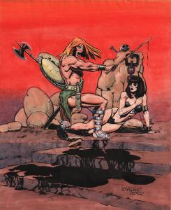 Ilustrador Vicente Fernández, ilustración comic