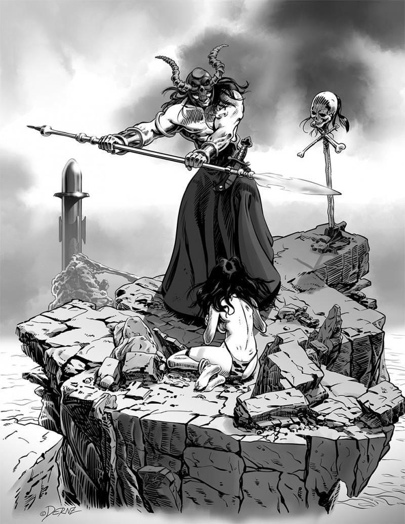 Ilustrador Vicente Fernández, ilustración comic 2