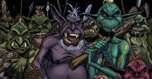 Ilustrador Vicente Fernández, ilustración monsters