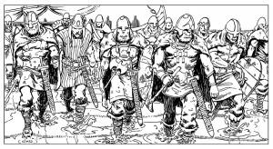 Ilustrador Vicente Fernández, ilustración vikings